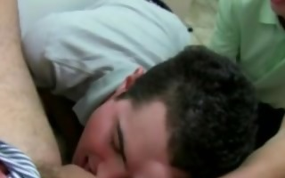 straight legal age teenager hazed into blowjob