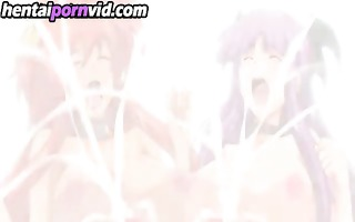 sexy big boobed hentai bitch squirting part3