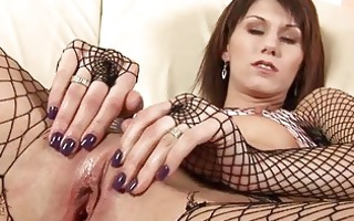 gratifying wet crack with sex toys