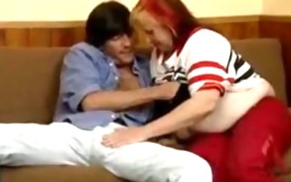 crazy old mommy acquires big dick fellatio and