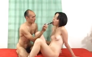 deep anal sex with bushy japanese woman