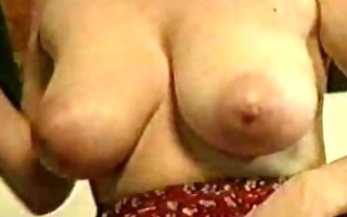 breasty older russian riding dick