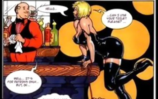 massive breast big round butt comic