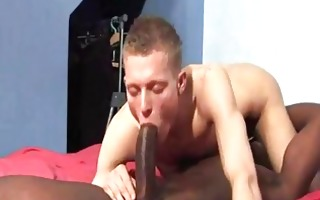massive darksome cock permeates constricted