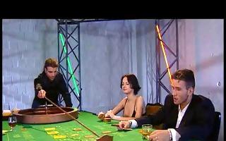 dominatrix chess gambit scene