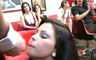 cheating cougars facial cumshots during party