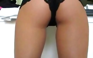 private sex clip with an awesome undress show