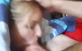 cute legal age teenager gf gives wonderful blow