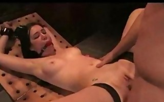 slavery redhead babe gives fucking with jizz flow