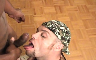 gagging on your large darksome dick (clip)