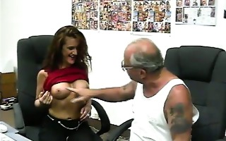 whore audition for old pervert