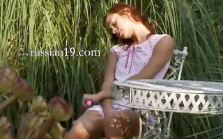 unbelievable russian coed teasing