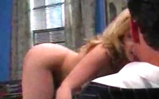 hawt blonde female spy being fucked right into an