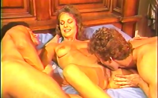 classic blond in steamy three-some - golden age