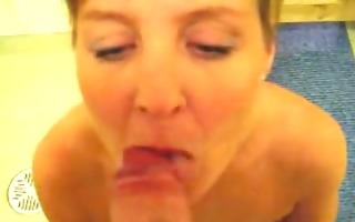 sexy british d like to fuck acquires jizzed on in