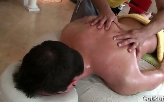 chap acquires his biggest pierced dick massaged 2
