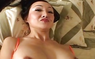 lengthy haired d like to fuck ange venus engulfs