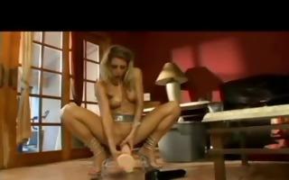 lewd seducing fist drilling
