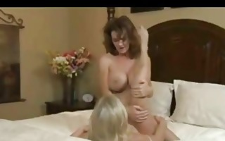 milfs get nasty with every other