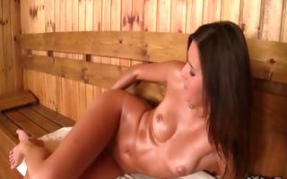 ukrainian playgirl agness fingers her pink love