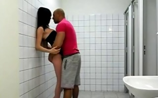 fucking hot transsexual whore in the crapper