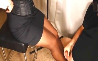 corset heels stockings &; satin headmistress