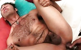 biggest black cock copulates constricted anal