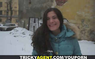 tricky agent - nudity with no sex still a win