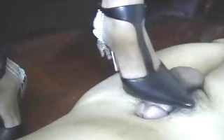 chinese heeljob - hot shoes
