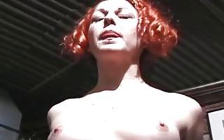 hot slut receives hog tied and tittortured