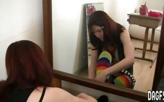flawless schoolgirl candid clip