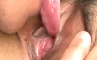 oriental nubiles hairy clitoris licked and