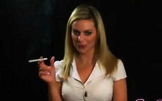 perverted babe smokin wild makeout