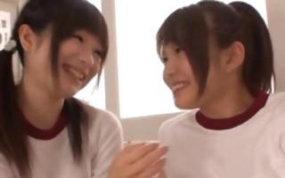 gorgeous harune maeda and megumi shono in lesbo