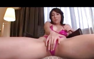 asian beauty in bikini masturbating screwed with