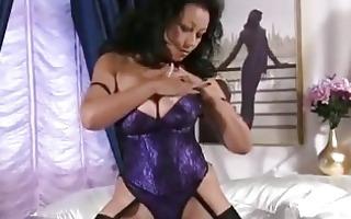 big titties mature stroking cunt