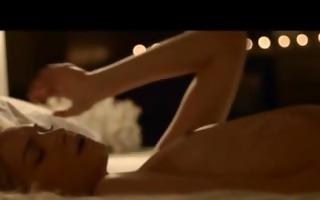 ravishing busty lezzies loving at night