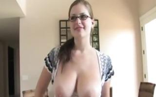 danielle adored busty babe flashing