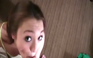 watch real girlfriend give mind boggling pov oral