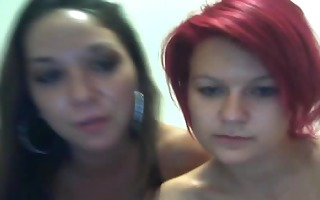 non-professional lesbians play with sex toys