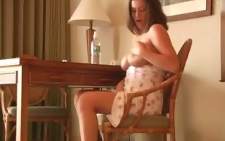playgirl plays with sex toy