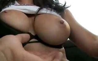 jessica jaymes gives bj in a car