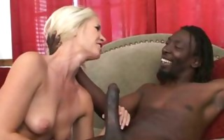 darksome and white interracial