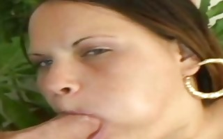 victoria fat latin chick devouring a thin dick