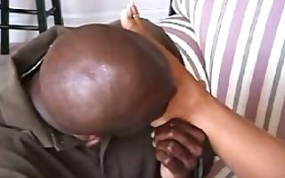 janet mason interracial french pedicure footjob