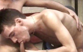 would-be boxing champions slaver their blowjob