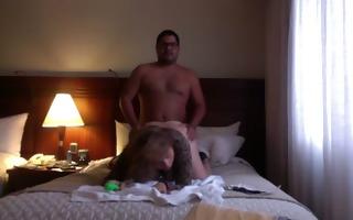 hubby fucks masturbating wife