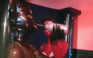 avid latex rubber fetish!