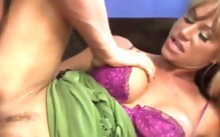 breasty golden-haired d like to fuck group-fucked