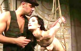 pretty slavegirl getting punished